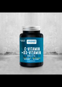 KATUSFOOD C vitamin + D3 vitamin